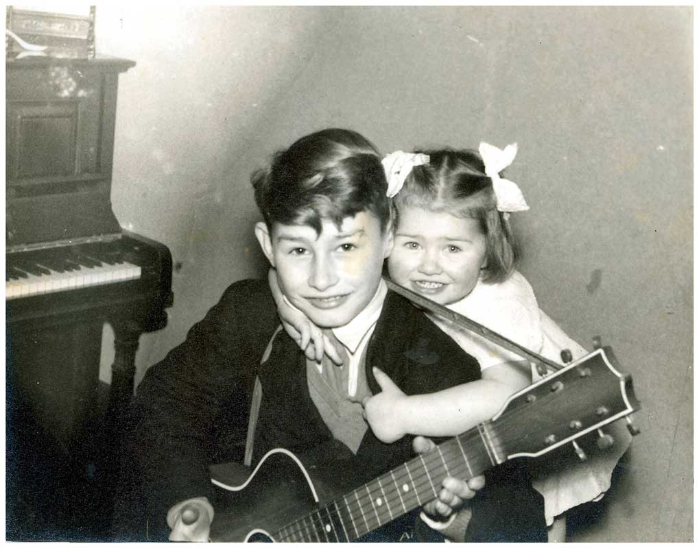 Janet and young John.